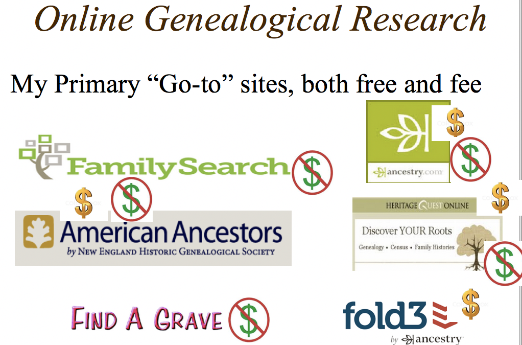 "Get your genealogical research on track at Dover (Vt.) Free Library July 6, with Three ""How To"" Talks"